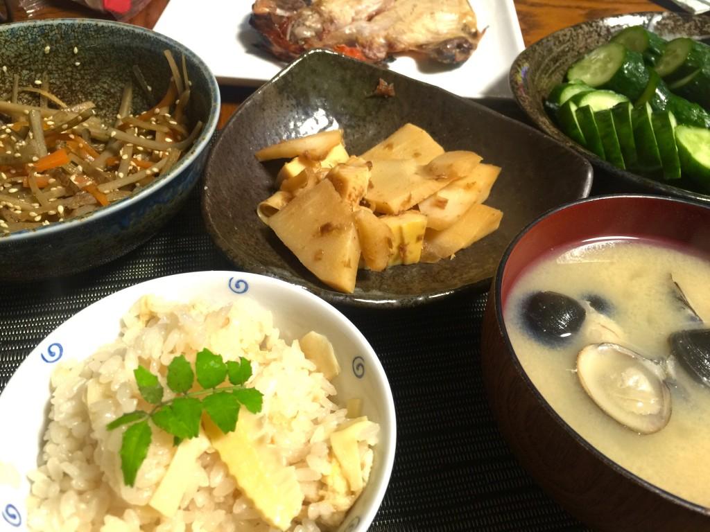 鎌倉野菜で夕飯